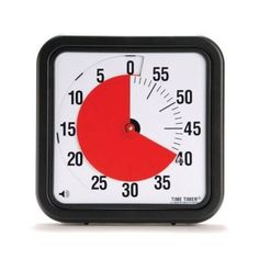 Time Timer Original MAGNETIC 60 Minute Visual Timer – Classroom or Meeting Countdown Clock for Kids and Adults Countdown Clock, Countdown Timer, Elementary Teacher, Elementary Schools, Classroom Timer, Time Timer, Clock For Kids, Thing 1, Teacher Tools