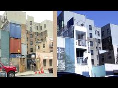 ▶ An NYC apartment that's made out of shipping containers. - Video - YouTube