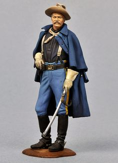 Cavalry Uniforms 7th Cavalry 1876 | US Cavalry Officer, 1876 SG-F154 54 mm 1/32 | Series General | Andrea ...