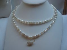 Necklace & Earrings  Joined together  by showoffjewels on Etsy, £325.00