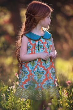 Persnickety | Printed Isabelle Dress