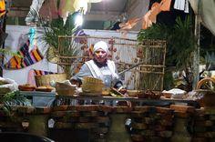 Rica comida preparada al estilo mexicano. Tradición