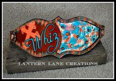 Lantern Lane Creations bronc halter noseband turquoise and orange