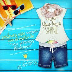 A partir de hoy, ropa para todos los días, a tu princesita le encantará !! Ven a conocer nuestra nueva colección de verano Poupin 1064 Local 4 - Bolevard María Betania www.myprincess.cl