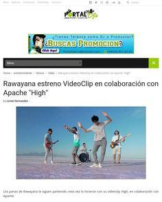 Los panas de Rawayana la siguen partiendo; esta vez lo hicieron con su videoclip High en colaboración con Apache. La canción forma parte de su más reciente álbum Trippy Caribbean lanzado el pasado 7 de octubre.  Para leer mas visita nuestra web: www.PortalDJs.com.ve   #rawayana #apache #lasminas #high #reggae #venezuela #videoclip #TalentoNacional