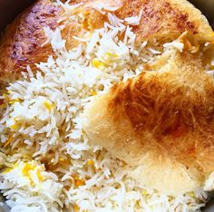 Persian Rice (Tahdig) - Powered by @ultimaterecipe