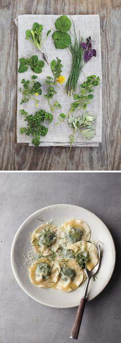 Fascinating Foraging & Wild Herb Ravioli Recipe
