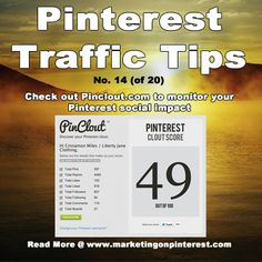 Pinclout...discover your score today...