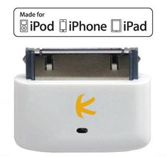 KOKKIA i10s (Luxurious White) Tiny Bluetooth iPod Transmi...