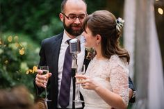 Bride & groom welcome speech at Morris House Hotel wedding | Heart & Dash | Wedding Planners serving the Philly, New York, Baltimore and beyond