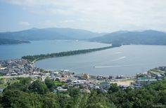 Amanohashidate, une des trois plus belles vues du Japon