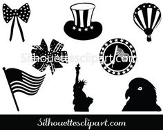 Purchase and use these Independence Day Silhouette ideal for US independence celebrations, banners and badges and related graphic designs. Independence Day July 4, Vector Design, Graphic Design, Silhouette Clip Art, Famous Landmarks, July 4th, Vector Graphics, Templates, Silhouettes
