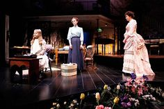 in this play there are lights from behind and above the actors making the actors a 3 dimensional Contemporary Plays, The Miracle Worker, Worker Bee, Helen Keller, Stage Lighting, Bees, Drama, Movie, Costumes