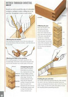 Good Wood Joints | Woodworking | Pinterest
