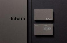 InForm Architects stationery, by Hofstede, Melbourne