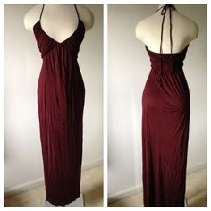 FENDI gown Halter FENDI gown. Wine colored maxi dress FENDI Dresses