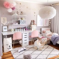Love this gorgeous little girl's room by @interiorbysarahstrath You can shop the look via the link in our bio. . PS. Our 15% OFF on all full price items offer ends midnight tonight, use code: MAY15 . #kidsroom #kidsroomdecor #kidsinterior #nordichome #nordicinspiration