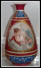 R C Vase with Putti & Campfire. Porcelain Vase, Hand Painted, Ceramics, Antiques, Painting, Ebay, Decor, Ceramica, Antiquities
