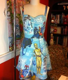Star Wars Dress (this would make my husband VERY happy if I wore it!)
