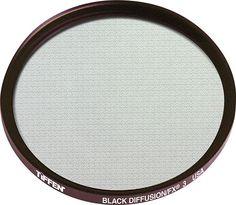 Tiffen - 55mm Black Diffusion 3 Lens Filter - Black, 55BDFX3
