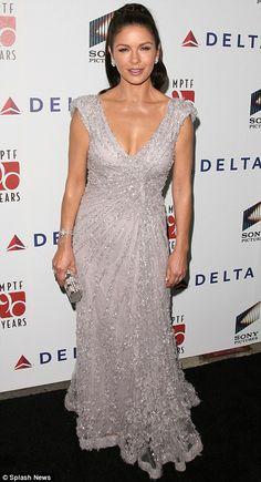 Catherine Zeta-Jones in Elie Saab