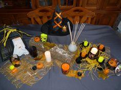 abracadabra, bonbons et sortilèges, figue diaboliques... c'est ça Halloween chez Partylite