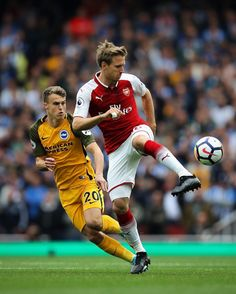 Nacho Monreal completed more passes vs. Brighton (101) than any other Premier League player this weekend.