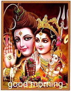 Lord Ganesha Paintings, Spiritual Paintings, Shiva Parvati Images, Shiva Shakti, Shiva Art, Indiana, Bal Krishna, Radhe Krishna, Lord Shiva Family