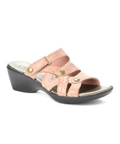 Take a look at this Rose Ella Fusion Sandal - Women by Clarks on #zulily today!
