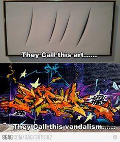 Humor funny art vs street graffiti on imgfave Memes Humor, Art Memes, 9gag Memes, Funny Humor, Artist Problems, Stupid Funny Memes, Lmfao Funny, Funny Art, Fun Funny