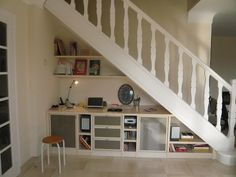 Am nagement sous escalier on pinterest bureaus under - Amenagement sous escalier ikea ...