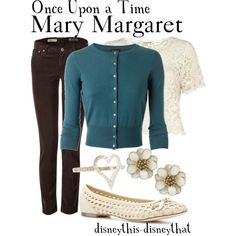 Casual Mary Margaret