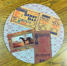 8 Mouse pad featuring a Kentucky Derby horse by TheBigMaresBarn, $10.00