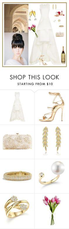 """A very special evening"" by m2ri ❤ liked on Polyvore featuring Maticevski, Oscar de la Renta, David Yurman, mizuki, Bloomingdale's and Dolce&Gabbana"