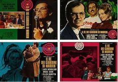 KING OF MARVIN GARDENS Italian fotobusta movie poster x6 JACK NICHOLSON 1972 NM  | eBay