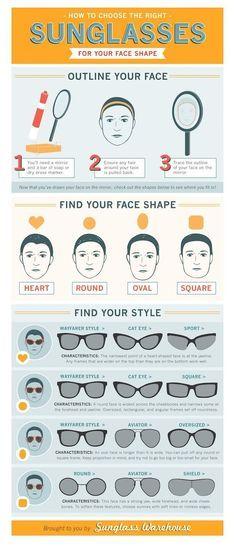 Elegir gafa según forma de cara.