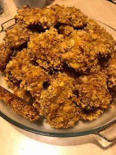Corn flakes bundás csirkemell sütőben Corn Flakes, Coron, Kefir, Chicken, Cubs