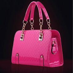 New Fashion Womens PU Leather Padlock Tote Handbag Shoulder Bag (Hotpink) redcolourful http://www.amazon.com/dp/B00LAXI436/ref=cm_sw_r_pi_dp_6Hwwub17WY19D