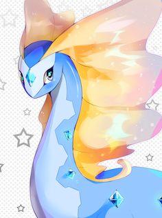 Aurorus youre so majestic ☆~ Probably one of my favorite pokemon :) >> Was in my first pokémon team *u*