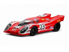 The TrueScale Minitatures 1/12 Porsche 917K, #23, Porsche K.G. 1970, Le Mans 24H Winner is part of the TrueScale Miniatures 1/12 scale resin model car range and displays some fantastic and intricate details.