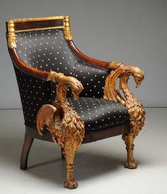 2 ПК. 19 процента российских позолотой кресло & кресло. : Лот 613