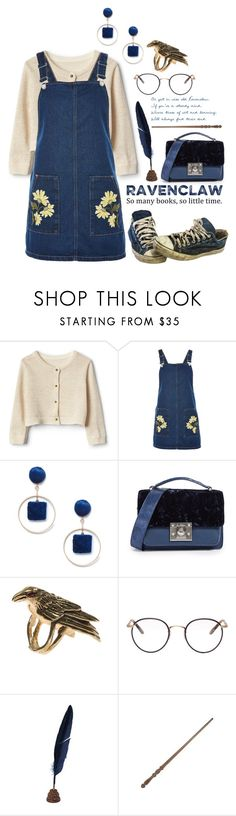 """""""Ravenclaw: Fall Cosy Sunday"""" by hermoinegranger ❤ liked on Polyvore featuring Topshop, Sole Society, Sam Edelman, Maria Nilsdotter and Garrett Leight"""