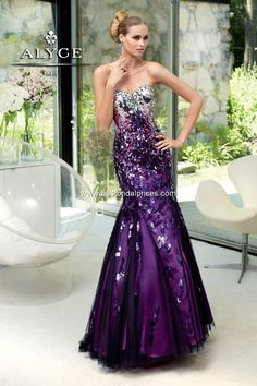 Alyce Paris - Style 6064 #prom #dresses