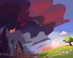 ios game trailer by Ariel Belinco, via Behance