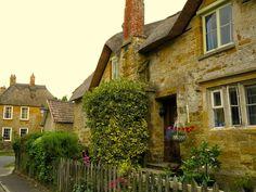 English village. Rural. Hinton St George