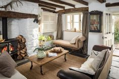 Elysian October Cottage Cornwall Unique Home Stays - http://hookedonhouses.net/2015/10/14/october-cottage-a-magical-mooreland-retreat/Holiday Rental