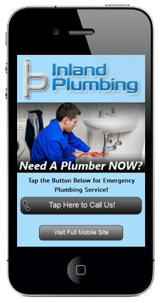 When somebody needs a plumber, make it easy for them to call you. of customers who visit a mobile unfriendly site are likely to go to a competitor's site Mobile Landing Page, Movie Search, Landing Page Examples, Plumbing Emergency, Portfolio Website Design, Mobile Web Design, Mobile Marketing, Ads