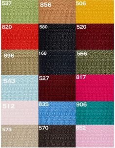 Ten 4 inch to 7 inchYKK Zippers Nylon Coil Skirt and by zipperstop, $4.25
