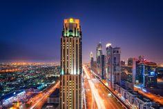 Sheikh Zayed Road from Kharbash Tower, #Dubai
