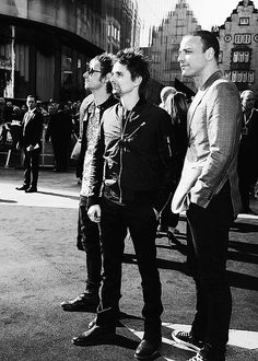 Dom Howard, Matt Bellamy & Chris Wolstenholme. #Muse
